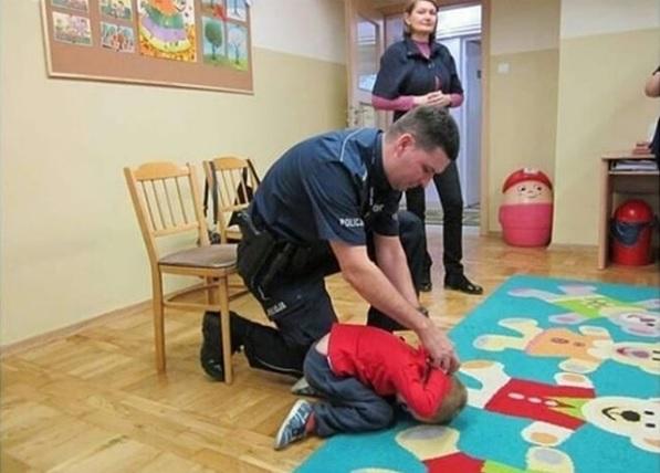 Aresztowanie przedszkolaka