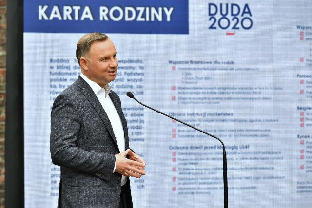 Andrzej Duda Karta Rodziny