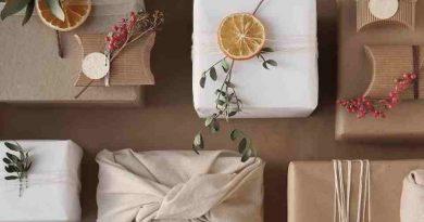 Inspiracje w pakowaniu paczek na święta top-gift