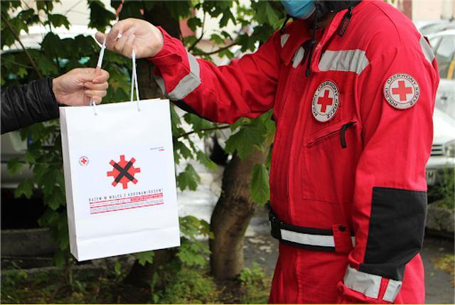 PCK pomaga podczas pandemii