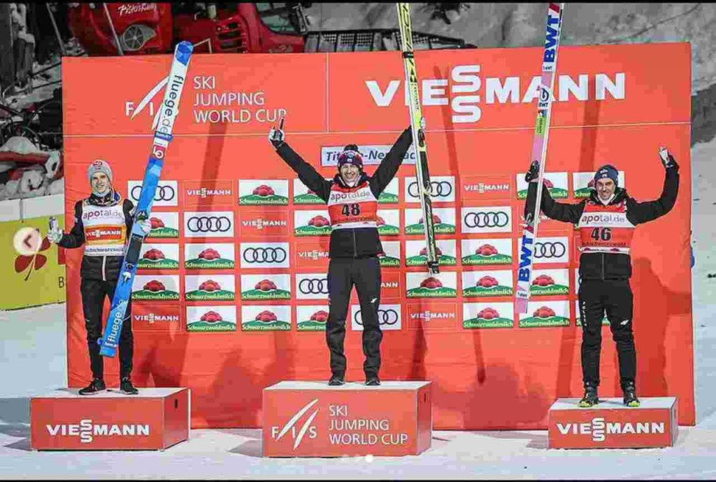 Titisee-Neustadt podium