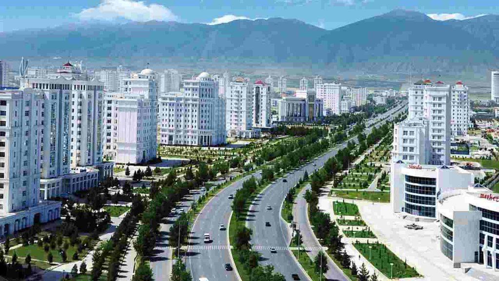 ulice Aszchabadu