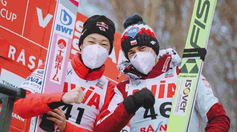 Kamil Stoch i Ryoyu Kobayashi