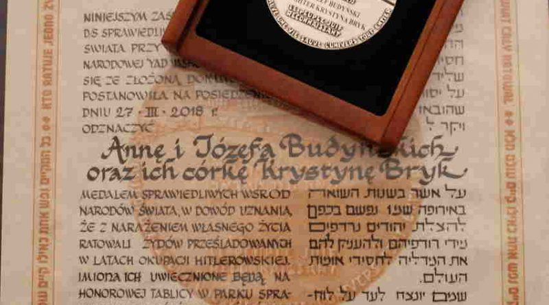 """""""Kto ratuje jedno życie - ratuje cały świat"""" - ukrywali Żydów, narażając własną wolność"""