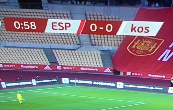 mecz Hiszpania Kosowo