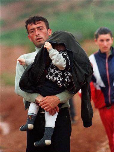 uchodźcy z Kosowa