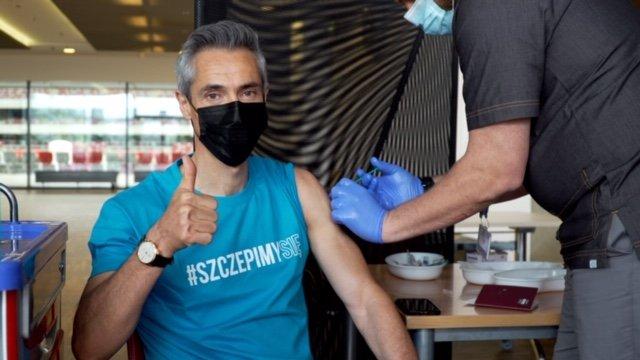 szczepienie Paulo Sousy